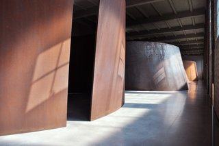 Weekend Detour: Beacon, New York - Photo 5 of 27 - One of the highlights of Dia:Beacon, this sculpture created by Richard Serra is best viewed in the late afternoon, when its foreboding steel structures both alludes to Dia's industrial past and the sleek minimalism which permeates its current space.