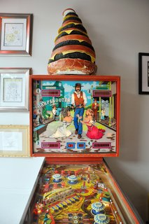 Weekend Detour: Beacon, New York - Photo 15 of 27 - While the food is certainly a draw, so is the eclectic décor, which includes vintage signs, pinball machines, and a fully decorated back patio.