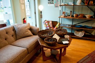 Weekend Detour: Beacon, New York - Photo 21 of 27 - Inside Global Home, visitors will find goods ranging from Balinese marriage beds, to glass paintings from Senegal, Moroccan tea tables, and antique Ming-style chairs.