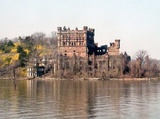 "For those looking to explore the more historical side of the area, Bannerman's Castle provides a glimpse into some of the lesser-known design anomalies of the area—a direct result of the different influxes of immigrants through the region's history. Created as a fortress to house the arsenal of a colonizing Scotsmen, the castle was often thought to be haunted. Native Americans and Dutch settlers avoided it for fear of ""resident spirits and goblins."" The state of New York owns the castle and tours can be obtained through bannermancastle.org"