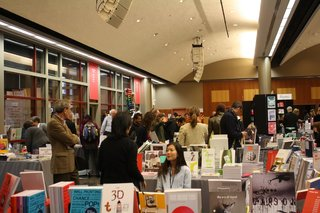 The Designers and Books Fair took place October 26–28.