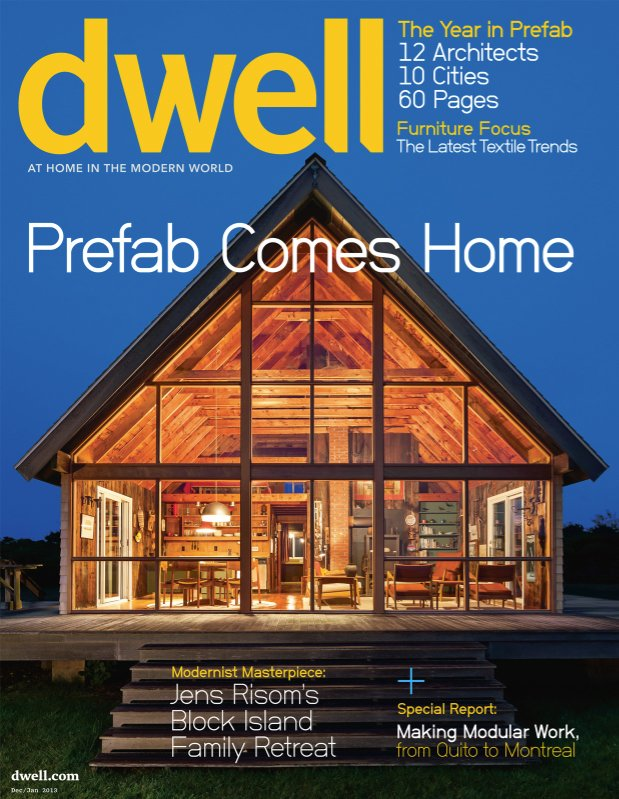 Dwell December/January 2013, Vol. 13 Issue 02: Prefab Comes Home by Dwell