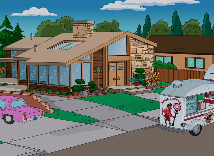 Photo 1 of 2 in Dwell On Simpsons Episode