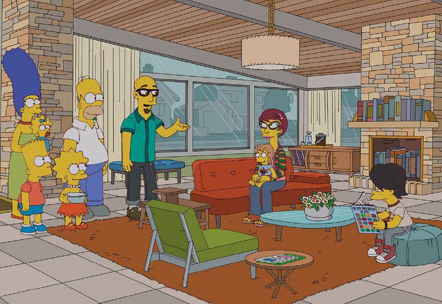 Photo 2 of 2 in Dwell On Simpsons Episode