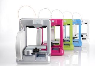 Cubify's 3D printer.