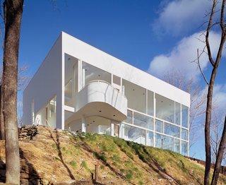 Shamberg House in Chappaqua, New York, 1972-74. (Copyright ESTO)
