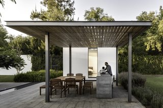 A Minimalist Mexican Retreat Uses an Array of Strategies to Beat the Heat - Photo 6 of 7 - Most of the fixed carpentry for this project was designed by AS/D and built by a contracted carpenter. Tzalam, the wood of choice, resists humidity and heat.