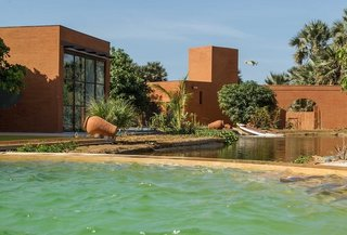 An Earth-Friendly African Retreat That's Actually Made From Earth - Photo 2 of 10 -