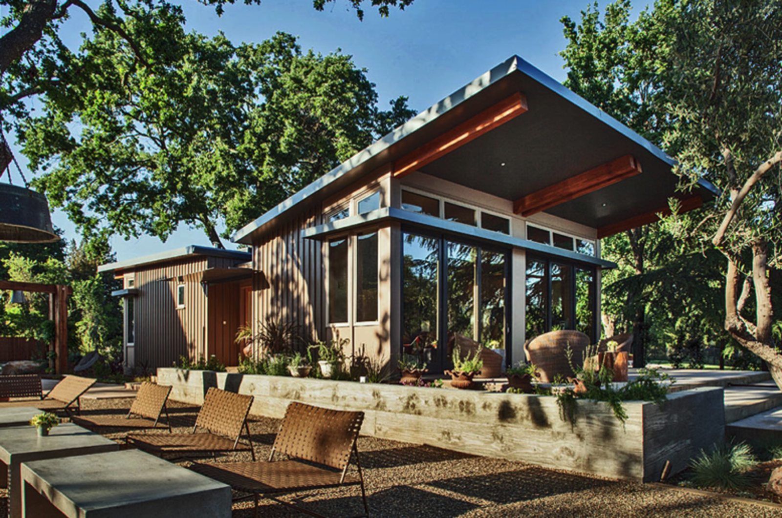 While sustainability, ease of construction, and affordability are priorities for most kit home companies, not all are as concerned with aesthetics. Stillwater Dwellings, which has participated in both the 2013 and 2014 Dwell on Design exhibitions, puts a distinct emphasis on natural lighting, intelligent floor plans, and high-quality craftsmanship to ensure innovative, modern designs.  Photo 6 of 7 in 7 Prefab Companies That Oregon Dwellers Should Know from 8 Companies That Are Revolutionizing Kit Homes