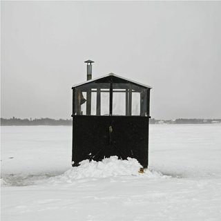 Architecture Off the Grid: Quirky Ice Huts Dot Canada's Frozen Lakes - Photo 11 of 14 -