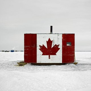Architecture Off the Grid: Quirky Ice Huts Dot Canada's Frozen Lakes - Photo 14 of 14 -