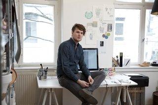 Designer Sebastian Herkner.