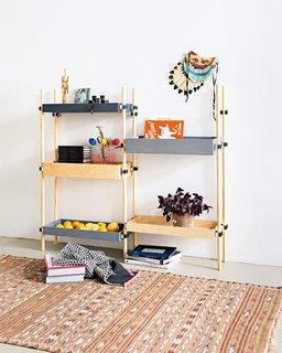 Transit shelves by Sebastian Herkner for SZ Magazin / Suddeutsche Zeitung.