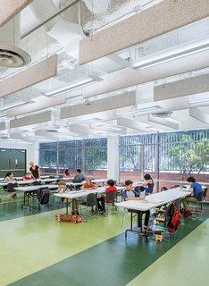 A Forgotten Insurance Building Finds New Life as a Humming High School - Photo 1 of 5 -