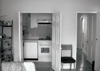 """An American Ex-Pat Renovates a Tiny London Apartment on Her Own Terms - Photo 5 of 14 - """"I knew how far I could push. I knew when the tears would come and when the joy would.""""—Johanna Molineus, architect and resident"""