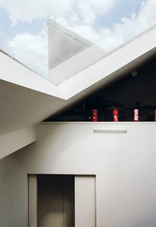 An American Ex-Pat Renovates a Tiny London Apartment on Her Own Terms - Photo 9 of 14 - Skylights draw sunshine into the apartment.