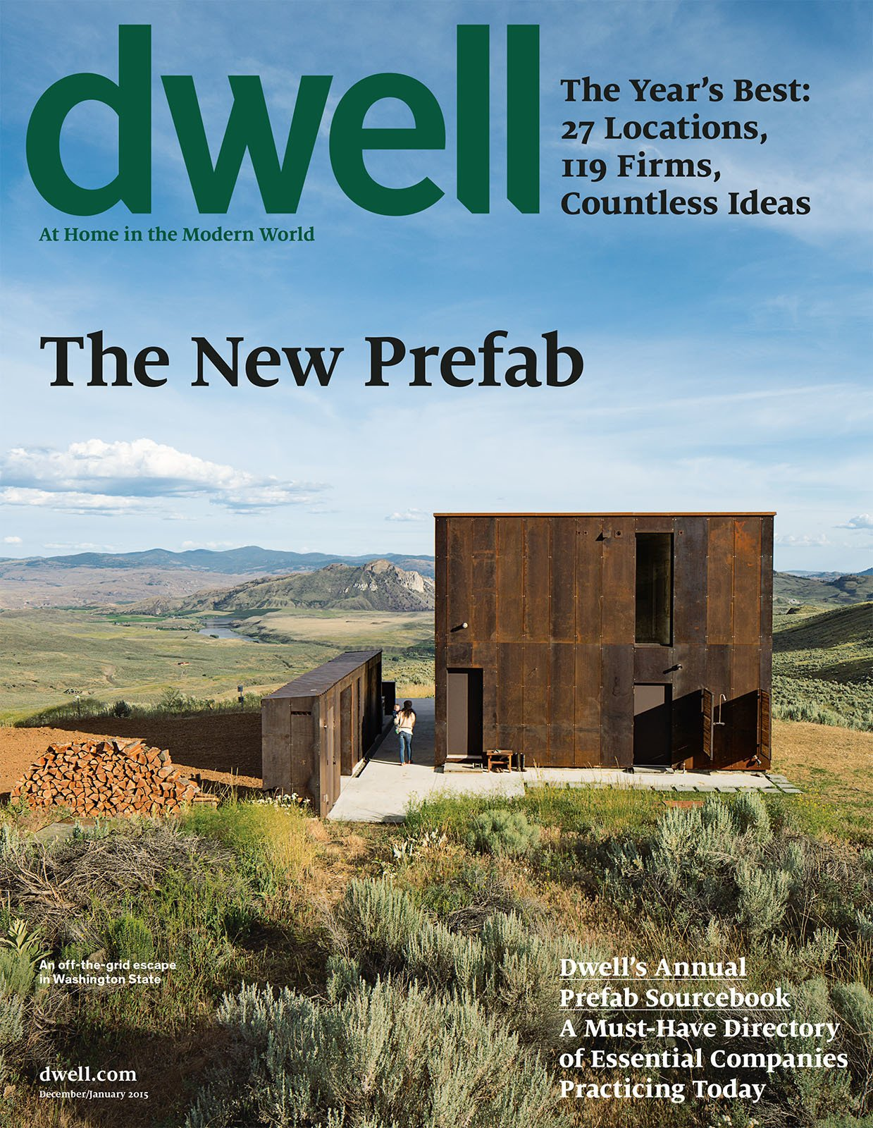 Dwell December 2015, Vol. 15 Issue 01: The New Prefab by Dwell