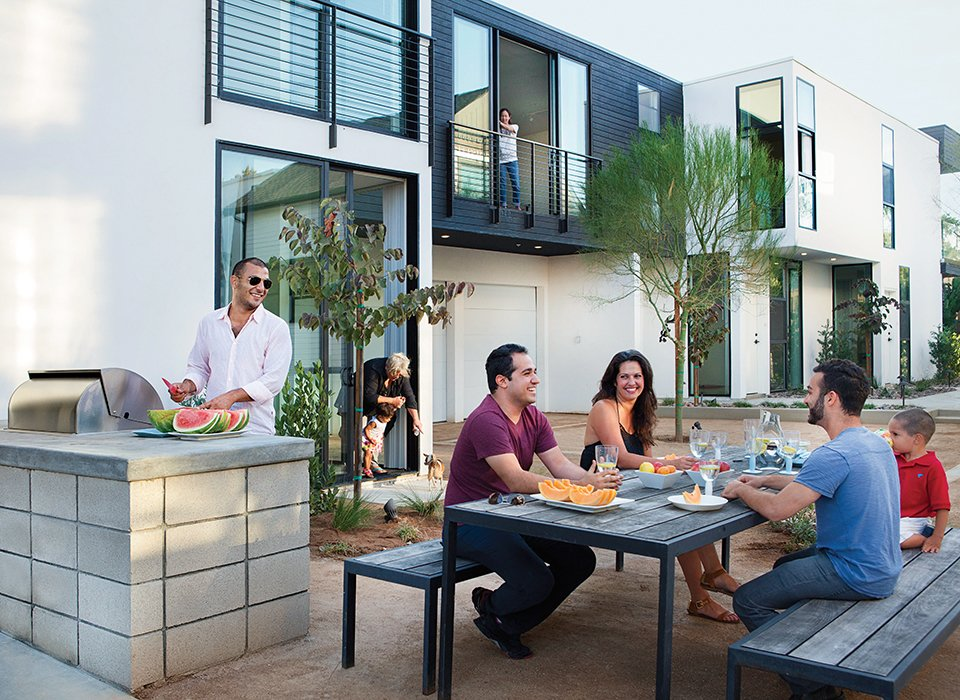 """Adds Soheil: """"Whether they're retirees or students or young couples, the idea was to create an environment they'll never want to leave.""""  Photo 8 of 8 in Architects Dream Up Truly Inviting Housing Options for Aging Population"""
