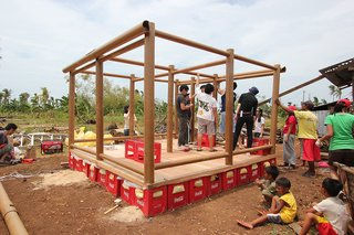 Shigeru Ban Designs Temporary, Easy-to-Build Shelters for Disaster-Prone Areas - Photo 1 of 5 -