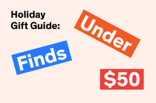 Short on funds but long on friends and family? Worry not: We've rounded up ten gifts under $50 that will bring joy to all the modernists on your list.