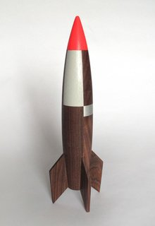 Modern, Whimsical Rocket by Designer Pat Kim - Photo 2 of 3 -