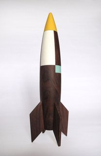 Modern, Whimsical Rocket by Designer Pat Kim - Photo 3 of 3 -