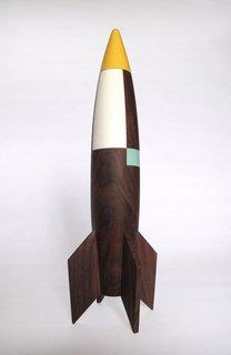 Modern, Whimsical Rocket by Designer Pat Kim - Photo 3 of 3 -