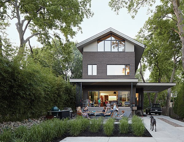 This Kansas City Home Looks Like Its Neighbors, But Reveals a Truly Modern Sensibility