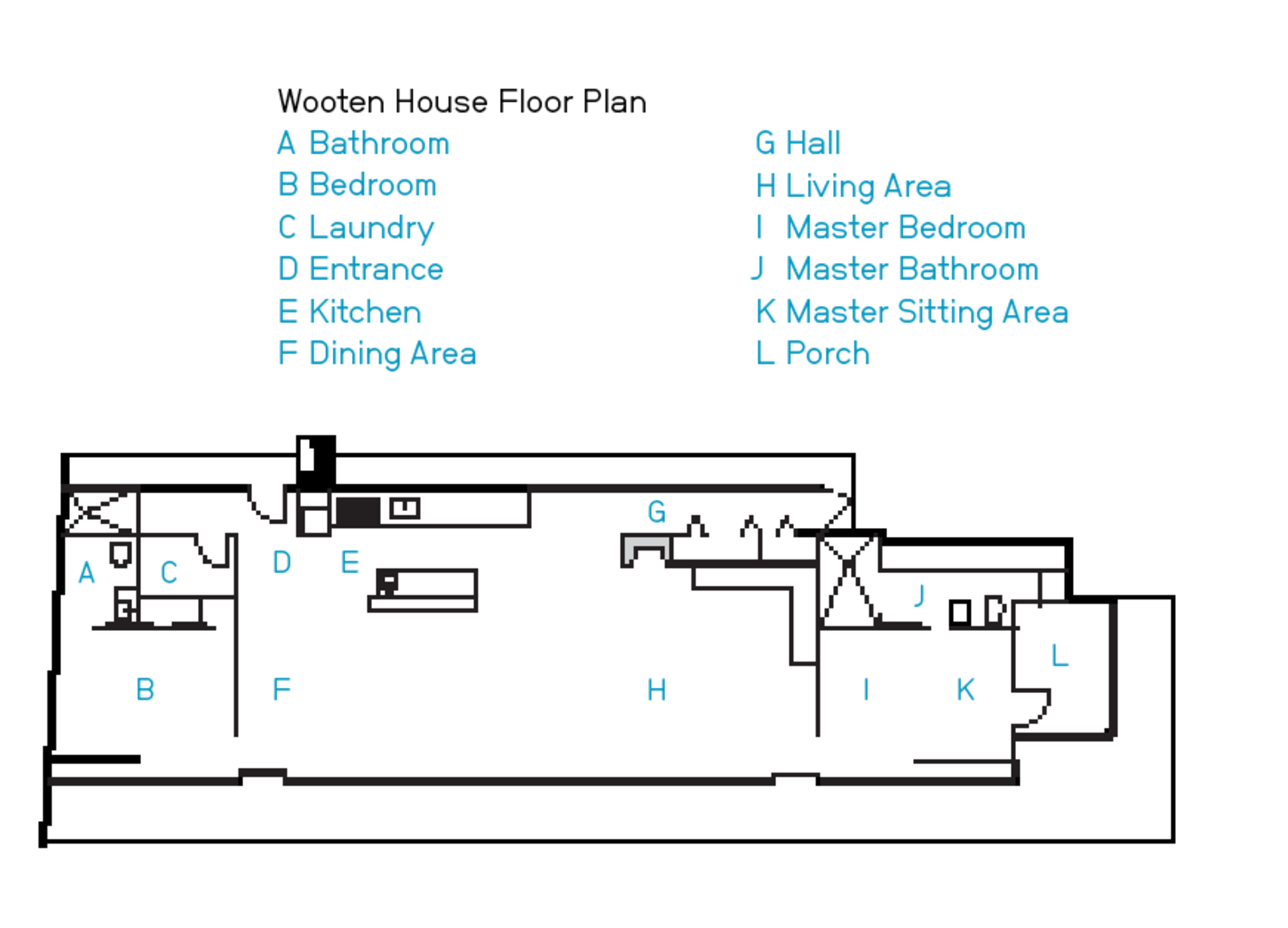The Wooten House Floor Plan.  Photo 12 of 12 in A Hybrid Prefab Home in Upstate New York