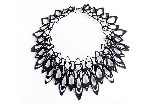 Stunning Modern 3-D Printed Jewelry - Photo 2 of 5 -