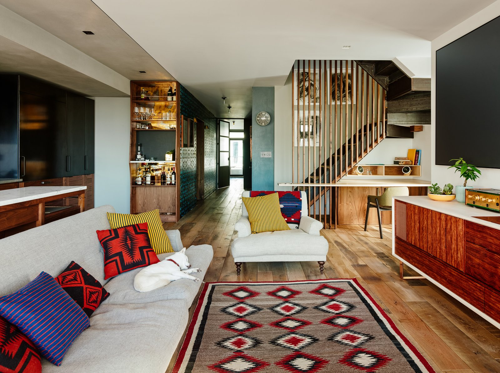 Two Apartments Were Combined Into This Inviting Brooklyn