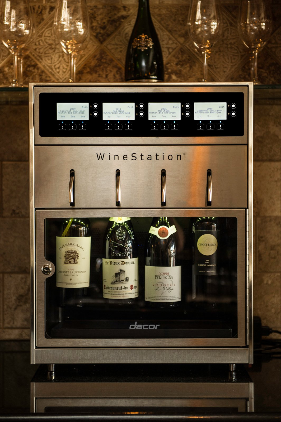 Photo 1 of 1 in Dacor Introduces the Discovery WineStation