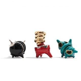 Decadent Dogu by Michael Geertsen-An interpretation of the ceramic Japanese figure.