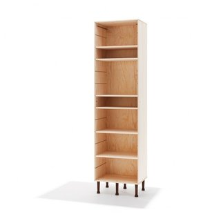 The Last Piece of Furniture by Søren Ulrik Petersen-A bookcase that converts into a coffin.