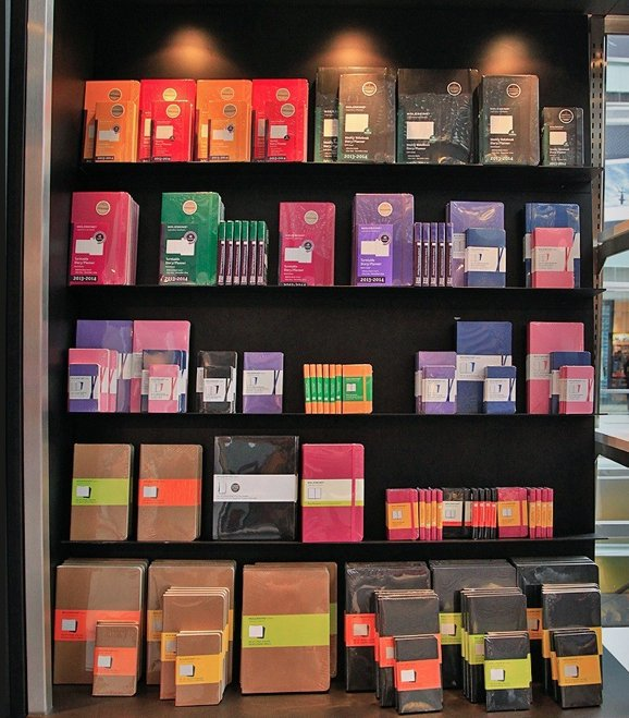 First Moleskine Store Opens in NYC by Sara Ost
