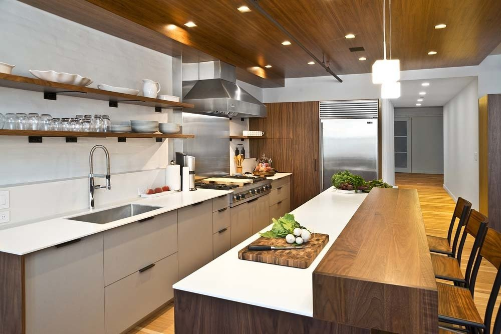 Photo 7 Of 10 In 10 Open Kitchen Solutions That Will Get Things Cooking  From NYC Loft With A Spacious, Party Ready Kitchen   Dwell
