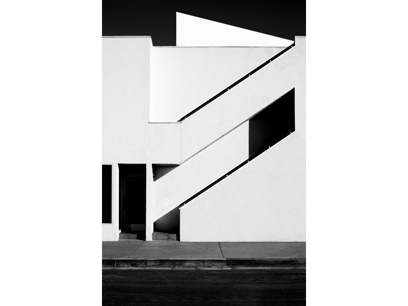 Composition from Photographer Nicholas Alan Cope's Black and White L.A.