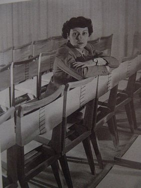 The architect with her side chair designs, year unknown. Photo courtesy Espasso.  Photo 5 of 8 in Destination of the Week: São Paulo