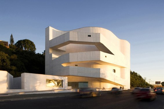 Portuguese architect Alvaro Siza, winner of the 1992 Pritzker Award, designed his first Brazilian project, the Fundacao Iberé Camargo in Porto Alegre, on a sliver of land along the Guaíba River. Finished in 2008, the museum will eventually house 50 years' worth of paintings, drawings, gouaches and prints by Brazilian artist Iberé Camargo. The building won the Golden Lion award at the 2002 Venice Architecture Biennale.  Photo 7 of 8 in Destination of the Week: São Paulo