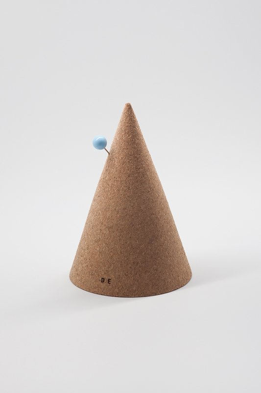 Cork Cone, 2011, $80—The highly durable material shaped like a cone plays office mate, perfect for deterring any pesky pin pokes. Could maybe also double as a party hat.  Photo 3 of 5 in Office Wares by Daniel Emma