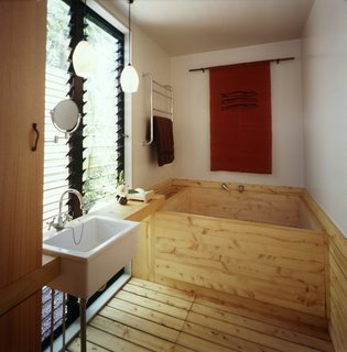 This Japanese-Style Box Home Boasts a Two-Story Bookcase - Photo 4 of 7 -
