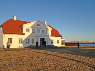 Home of Icelandic President Ólafur Ragnar Grímsson. Photo by: Tiffany Orvet