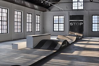 Completed in 2011 in Fiskars, Finland, Striitti is an indoor skatescape.