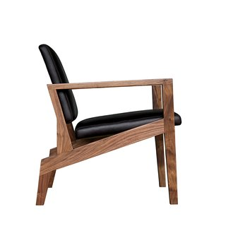 Durham, North Carolina<br><br>Maxwell Chair from Elijah Leed, $2,700. In his Bull City studio, Elijah Leed crafts handmade furniture from Appalachian wood. This lounge combines walnut and oiled leather.