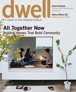 Matthew's favorite Dwell image ever was shot by Dean Kaufman for the Dec/Jan 2007 cover.