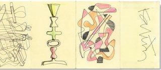 Industrial designer Karim Rashid's loops and shapes.