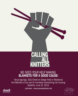 Dwell on Design Artist in Residence Tanya Aguiñiga Is Calling All Knitters!