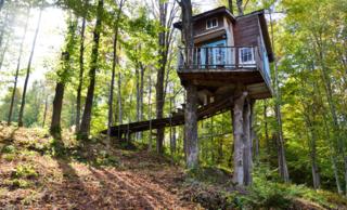 Treehouse, Vermont.
