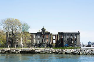 Plans are underway to stabilize the landmarked Gothic Revival style Smallpox Hospital on Roosevelt Island.
