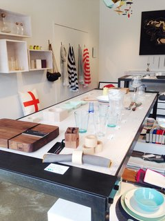 Shops We Love: Nora, Detroit - Photo 1 of 4 - The shop has an especially strong selection of tableware: glasses and utensils from Iittala, Hasami porcelain, and a bar board from Michigan designer Jose Regueiro are standouts.